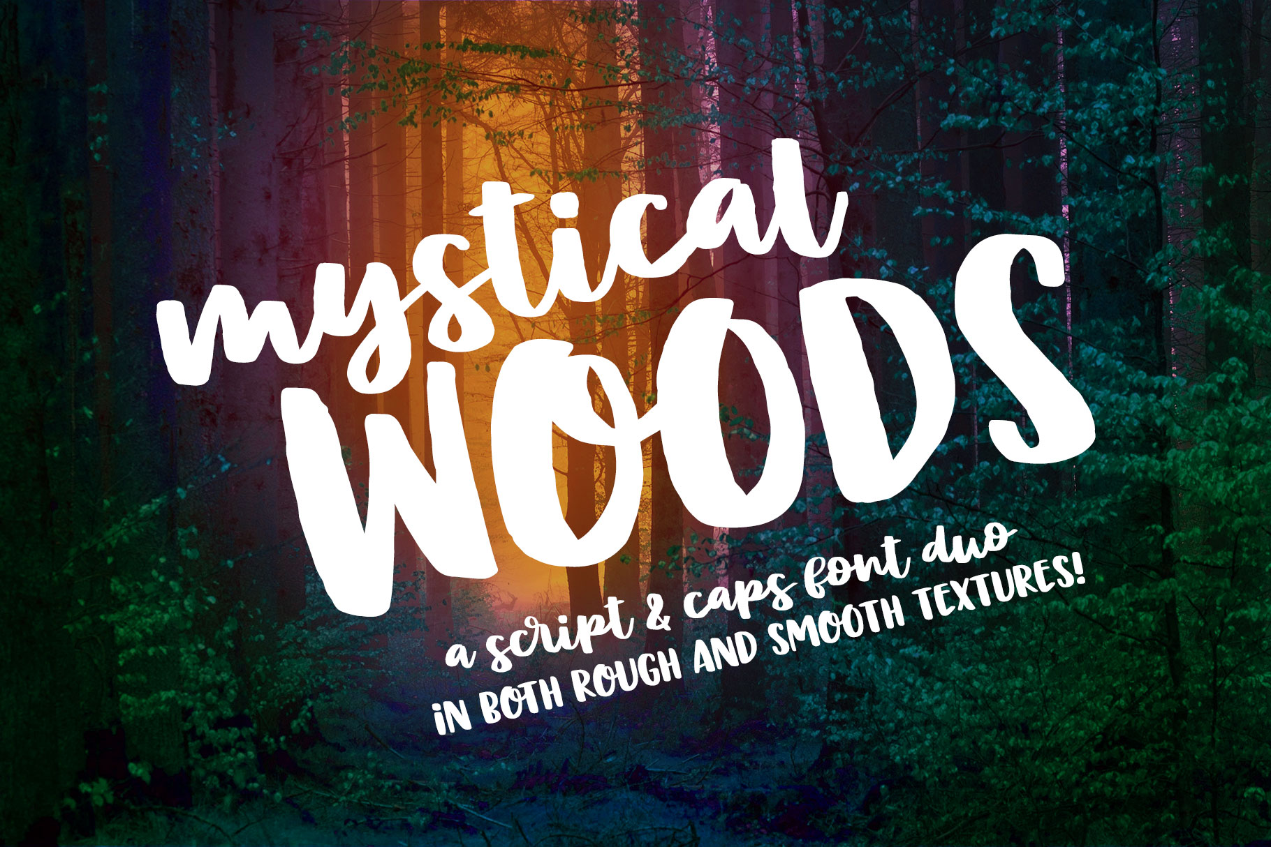 Mystical Woods: a script and caps duo! example image 1