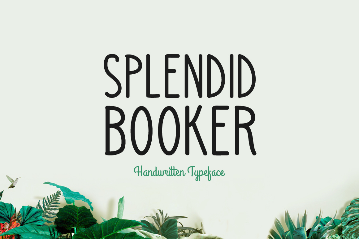 Splendid Booker example image 1