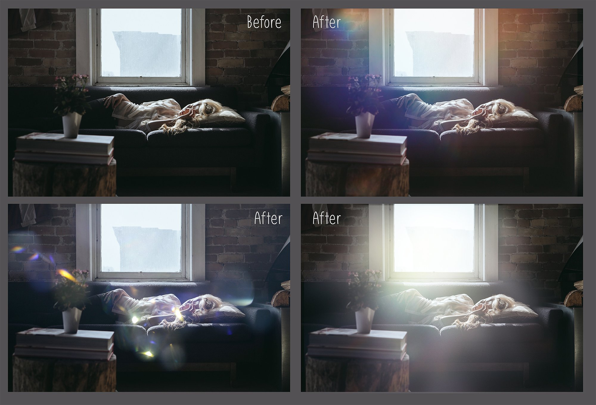 60 Light Bokeh Overlays example image 4