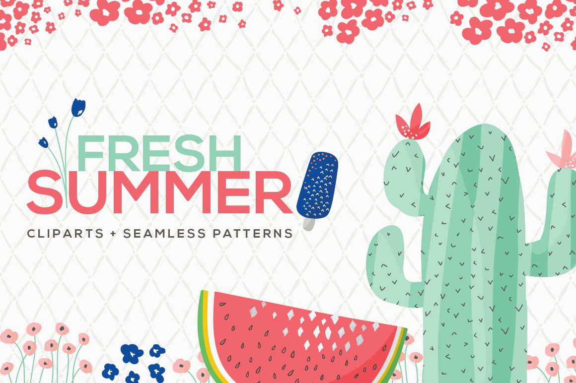 Fresh Summer Patterns example image 1