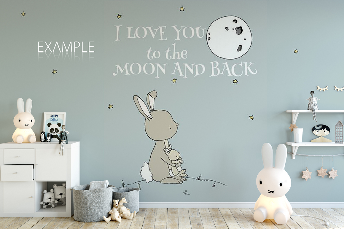 KIDS WALL & FRAMES Mockup Bundle - 2 example image 18
