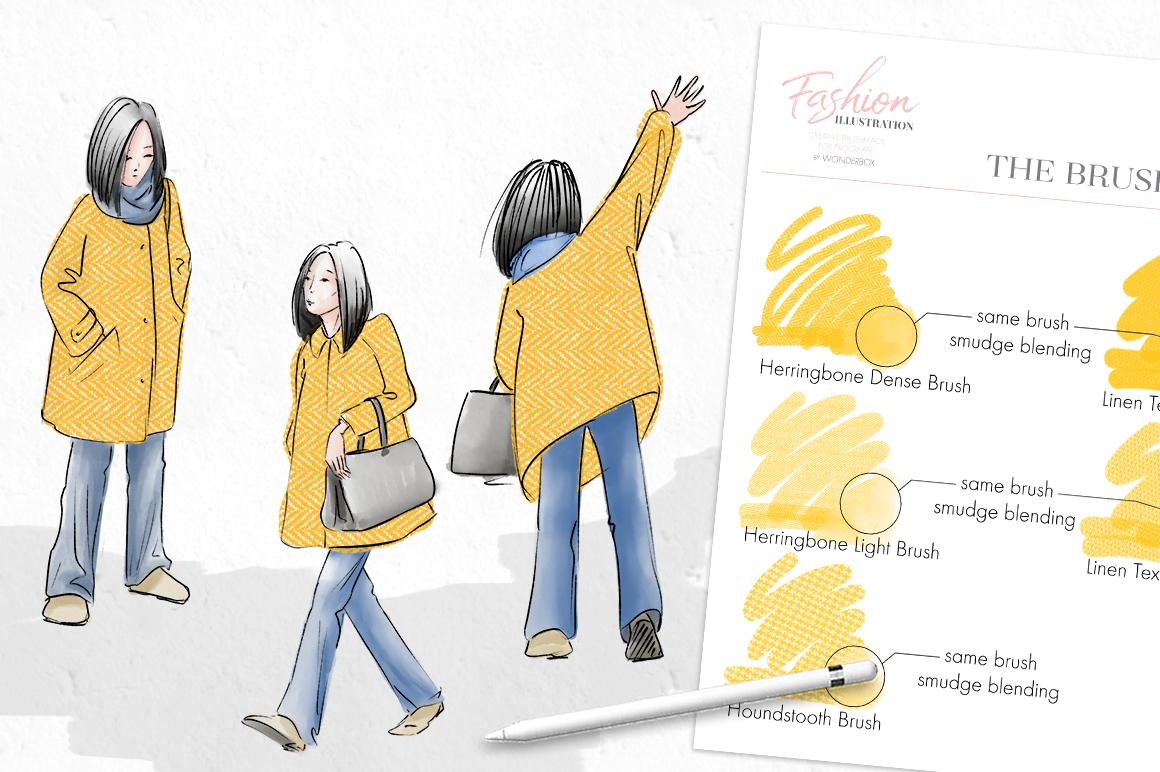 Fashion Illustration Brushes for Procreate example image 13