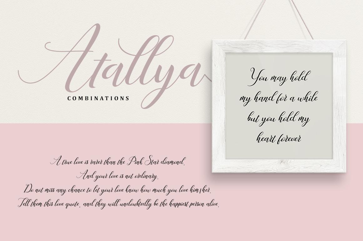 Atallya Script example image 2