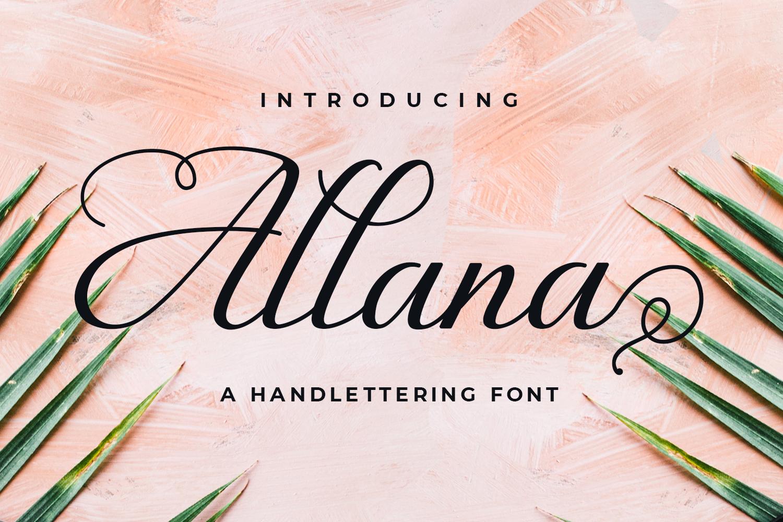 Allana example 1