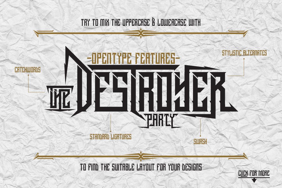 Dramaga Typeface example image 2