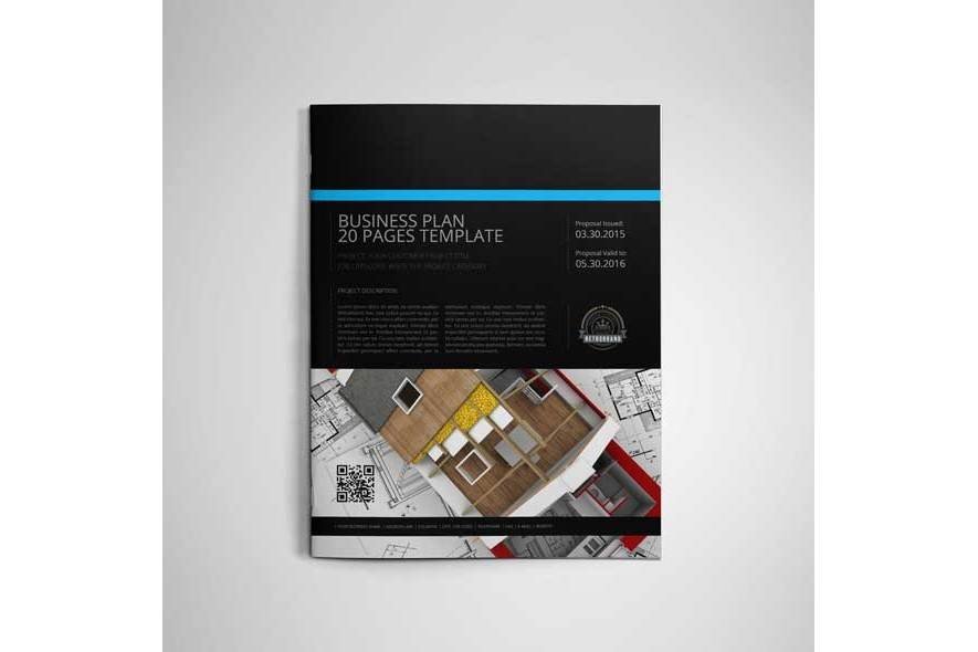 Business Plan US Letter 20 Pages Template example image 3