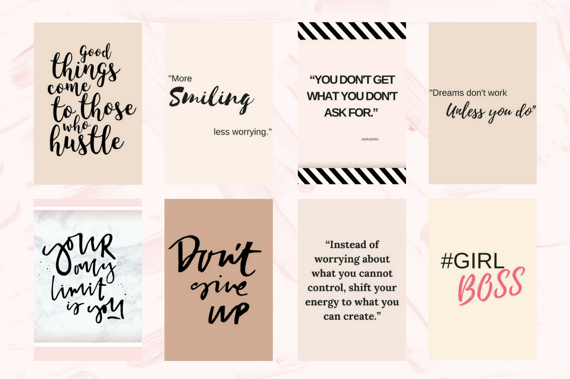 Pinterest quotes pack example image 3