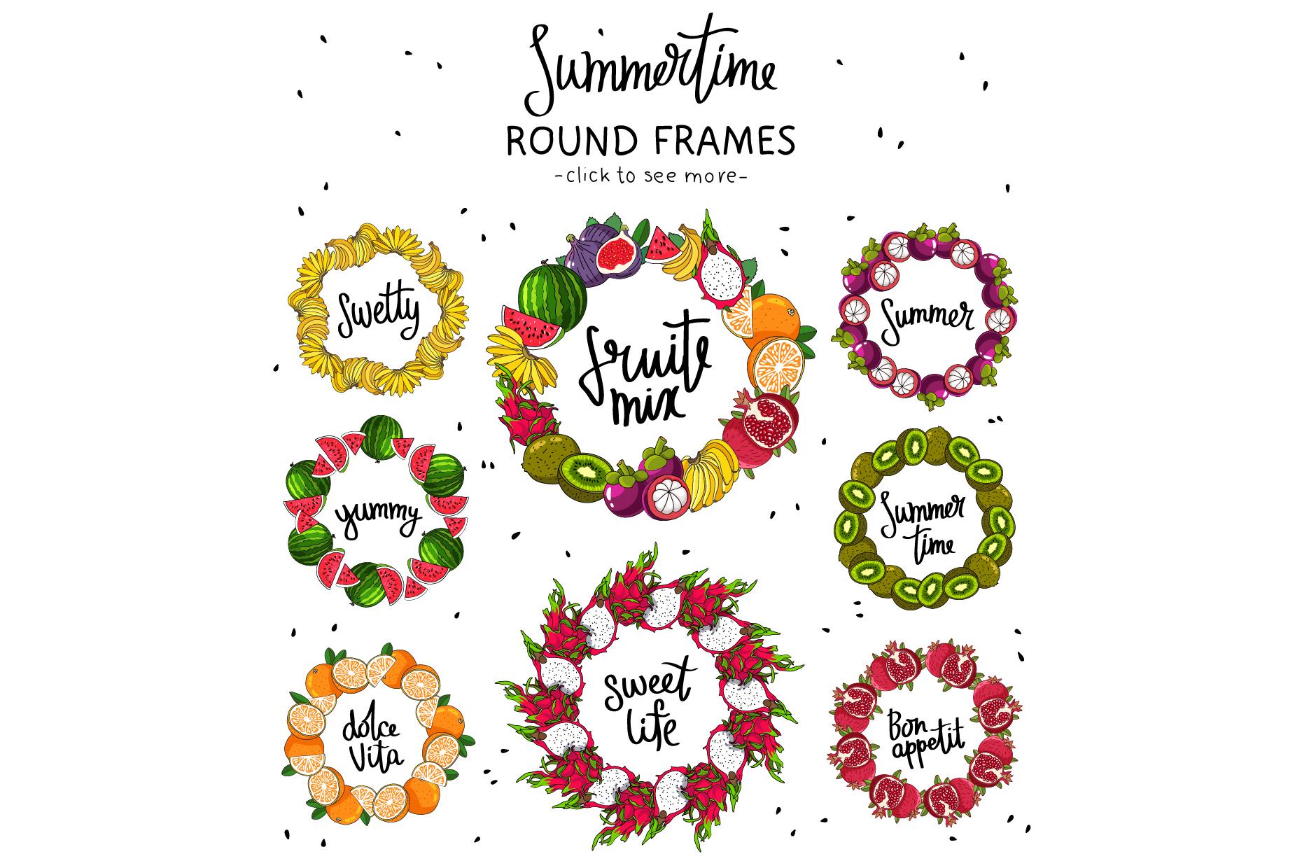 Summertime. Fruit Mix example image 4