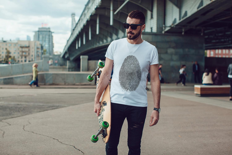 Men's T-Shirt Mock-Up Vol.3 2017 example image 3