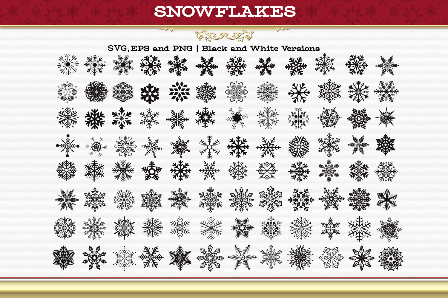 Snowflakes example image 3