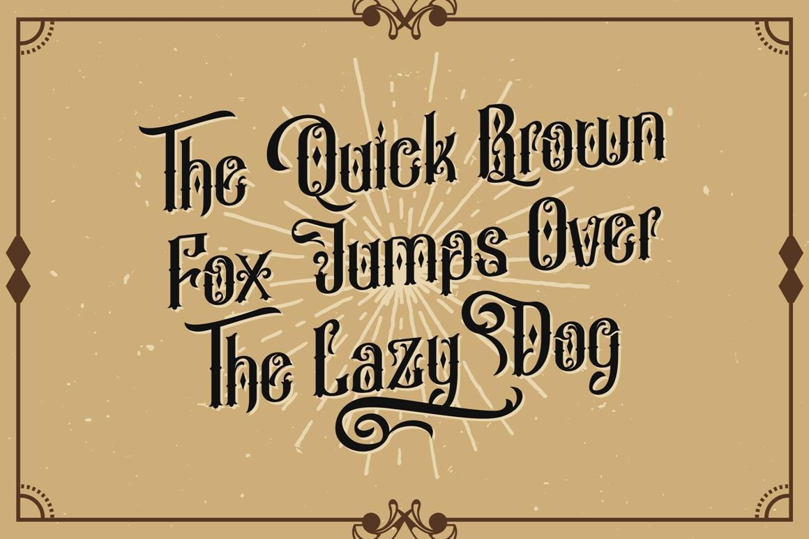 Besigetz Typeface example image 3