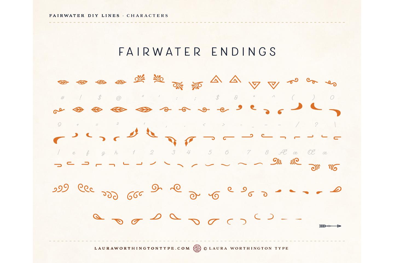 Fairwater DIY Lines example image 31