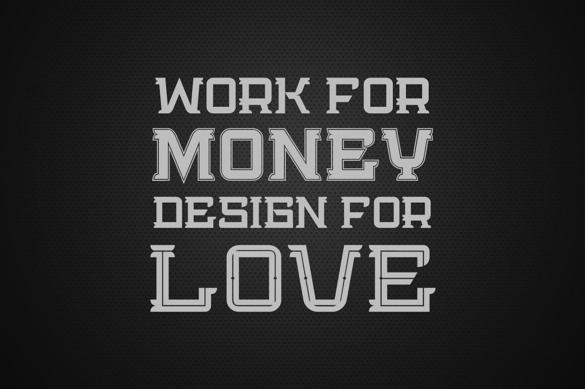 Bedengkang Typeface example image 5