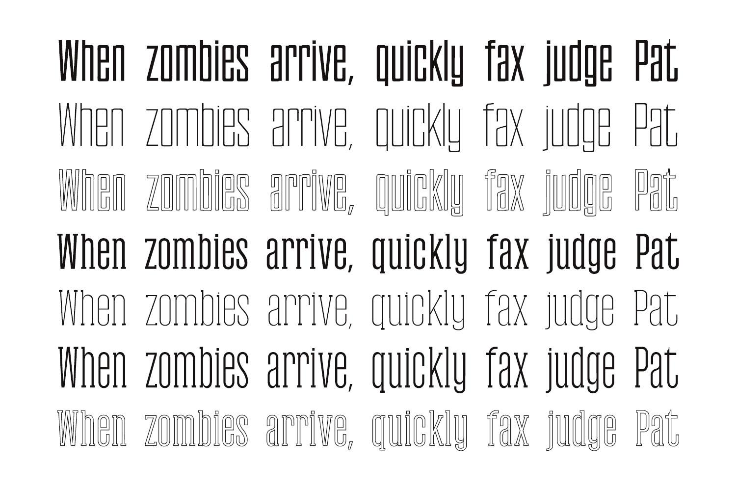 Gayora Slab Serif | Duo Font example image 7