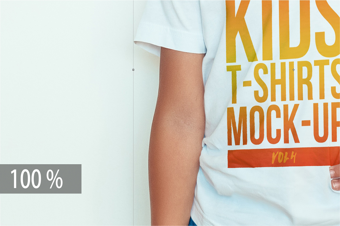 Kids T-Shirt Mock-Up Vol. 4 example image 6