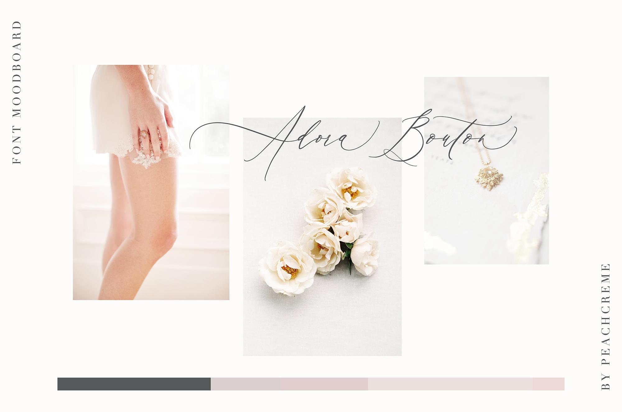 Adora Bouton-Luxury Script example image 3