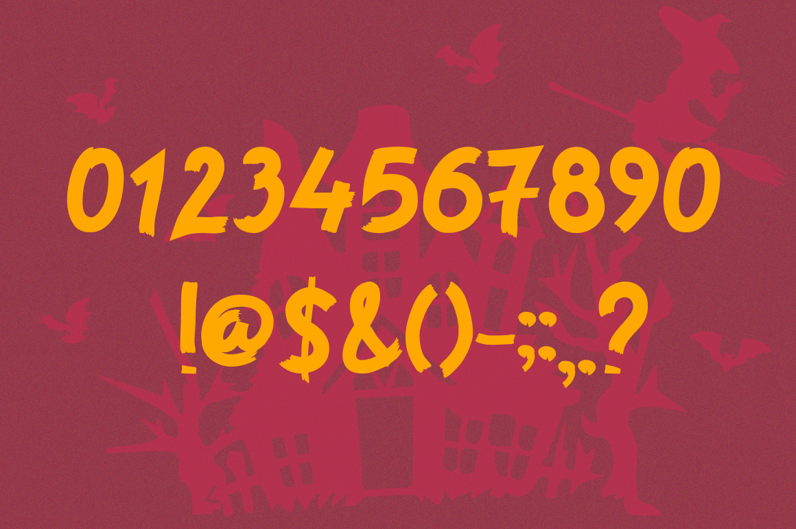 Horror Story Font - A Spooky Brush Font example image 7