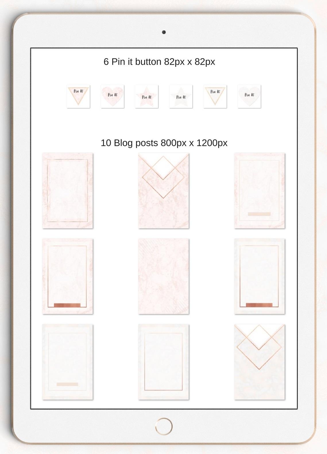 The Creative blog kit example image 2