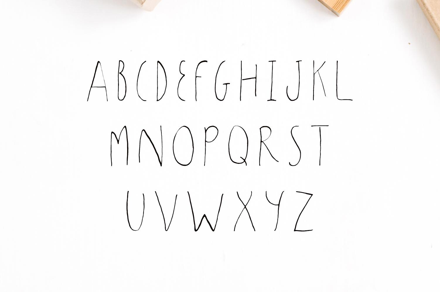 Sharoon Handwritten Sans Serif Font example image 2