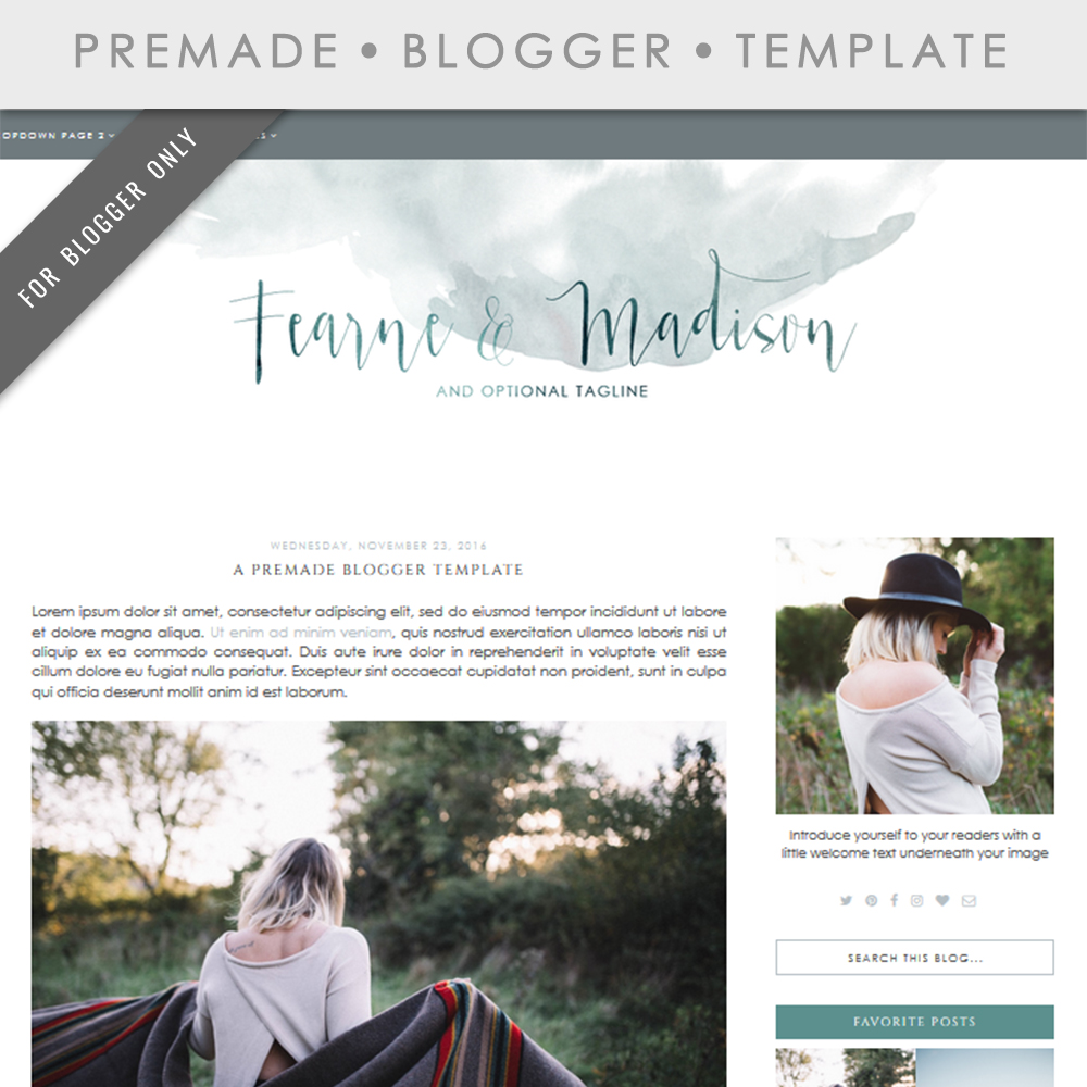 Ziemlich Blog Template Design Zeitgenössisch - Beispiel ...