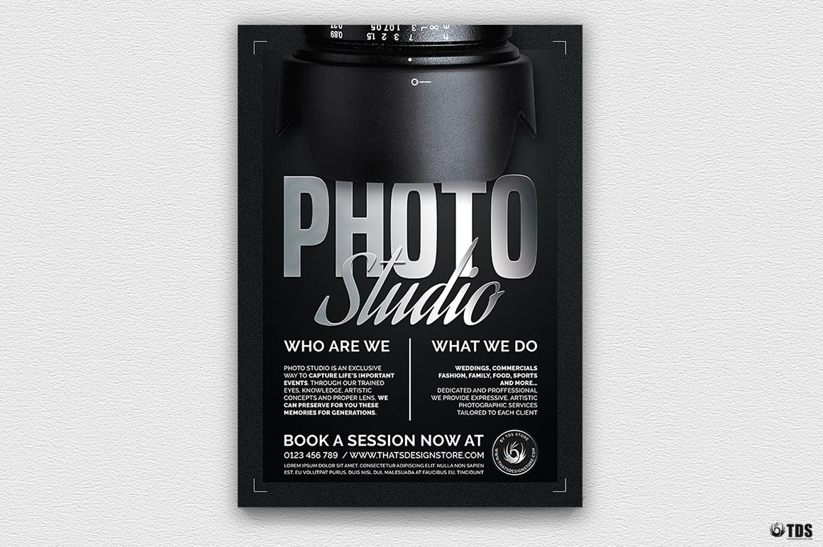 Photo Studio Flyer Template V2 example image 1