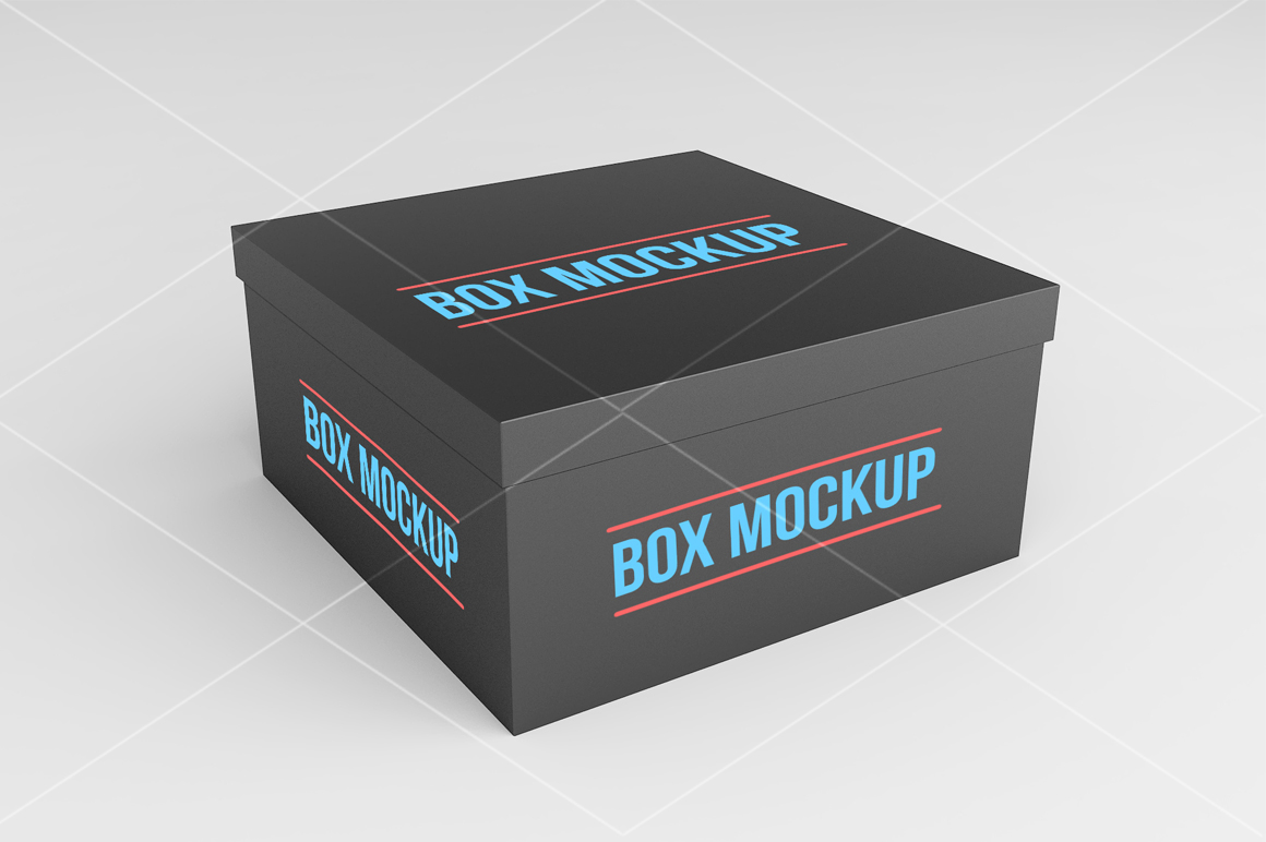 Square Box Mock up example image 3