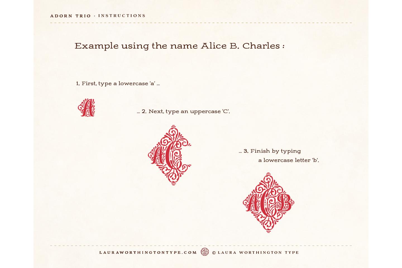 Adorn Trio example image 5