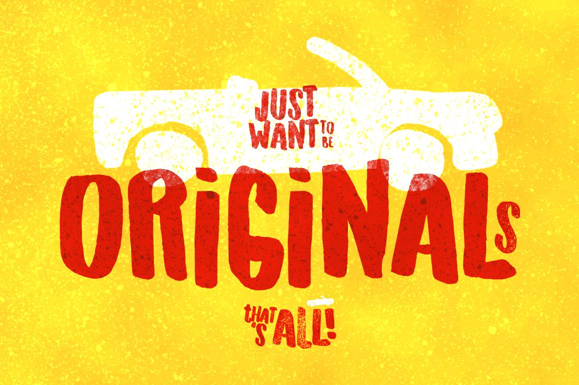 Originals Typeface example image 1