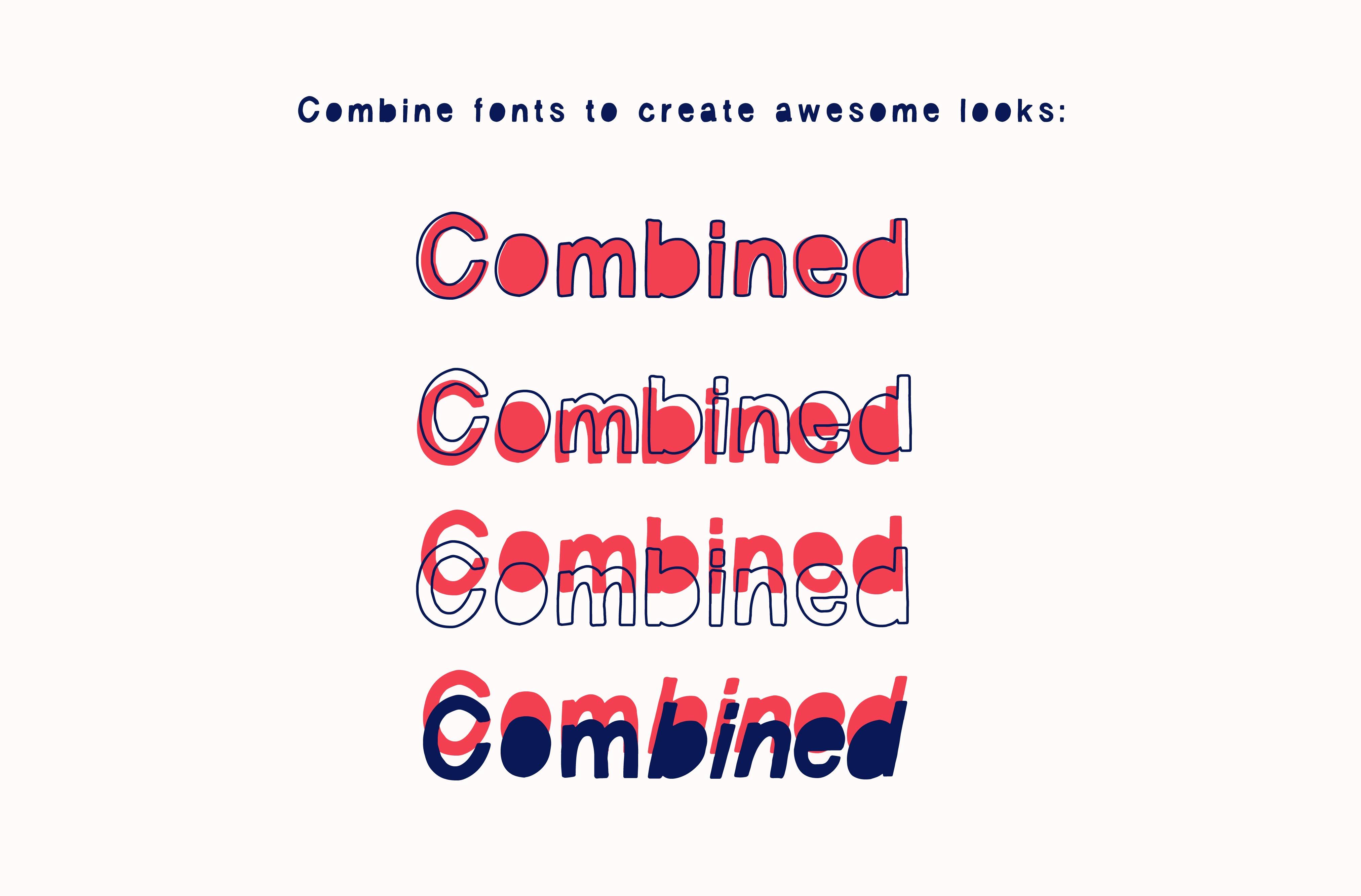 Vagabond Font Set example image 3