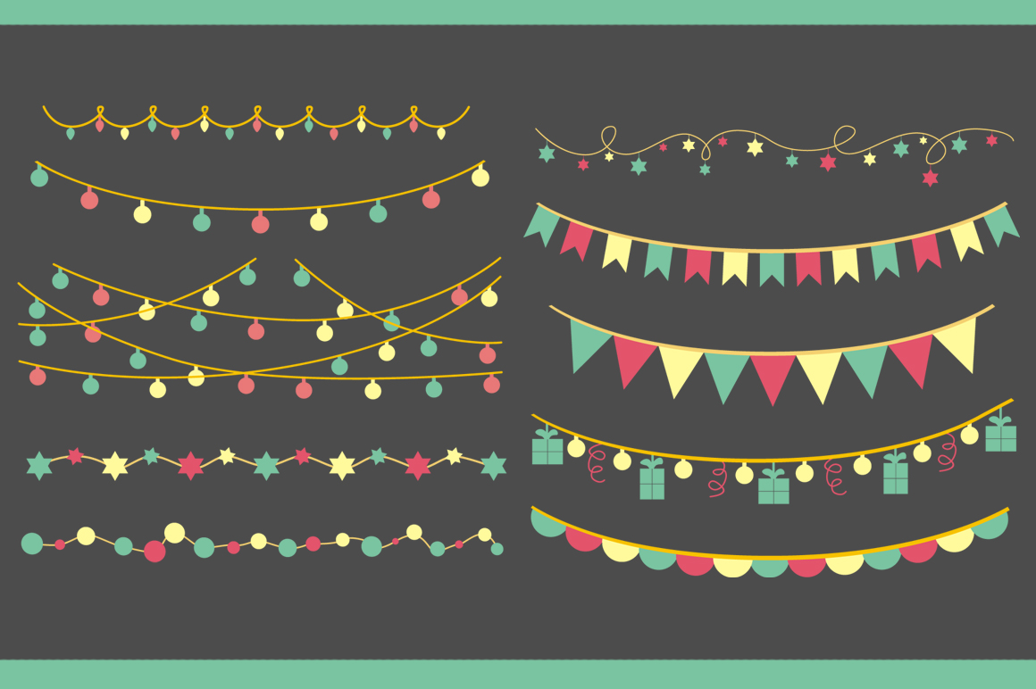Christmas Light & Decoration strings example image 3