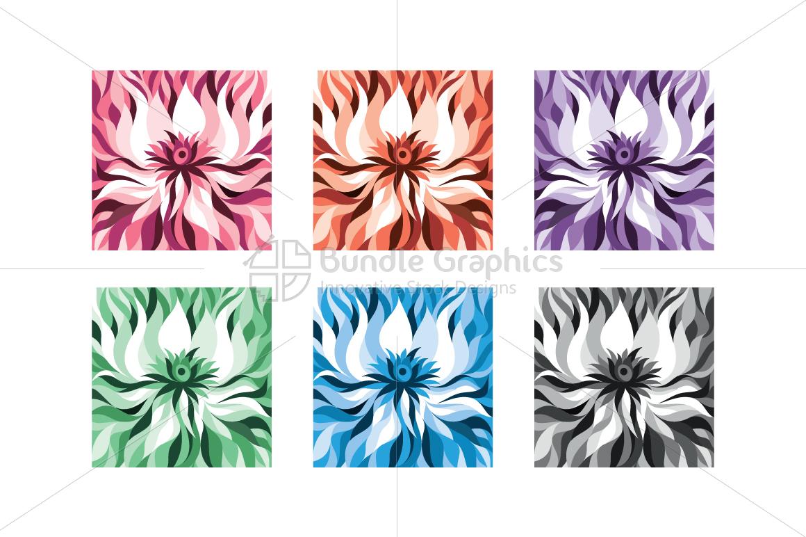 Lotus flower abstract monotone backgrou design bundles lotus flower abstract monotone background example image 1 mightylinksfo