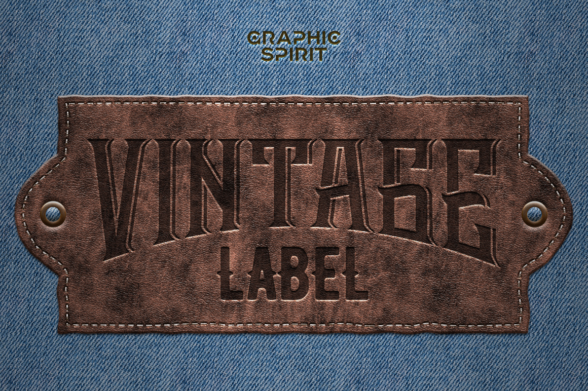 Leather Layer Styles For Photoshop example image 5