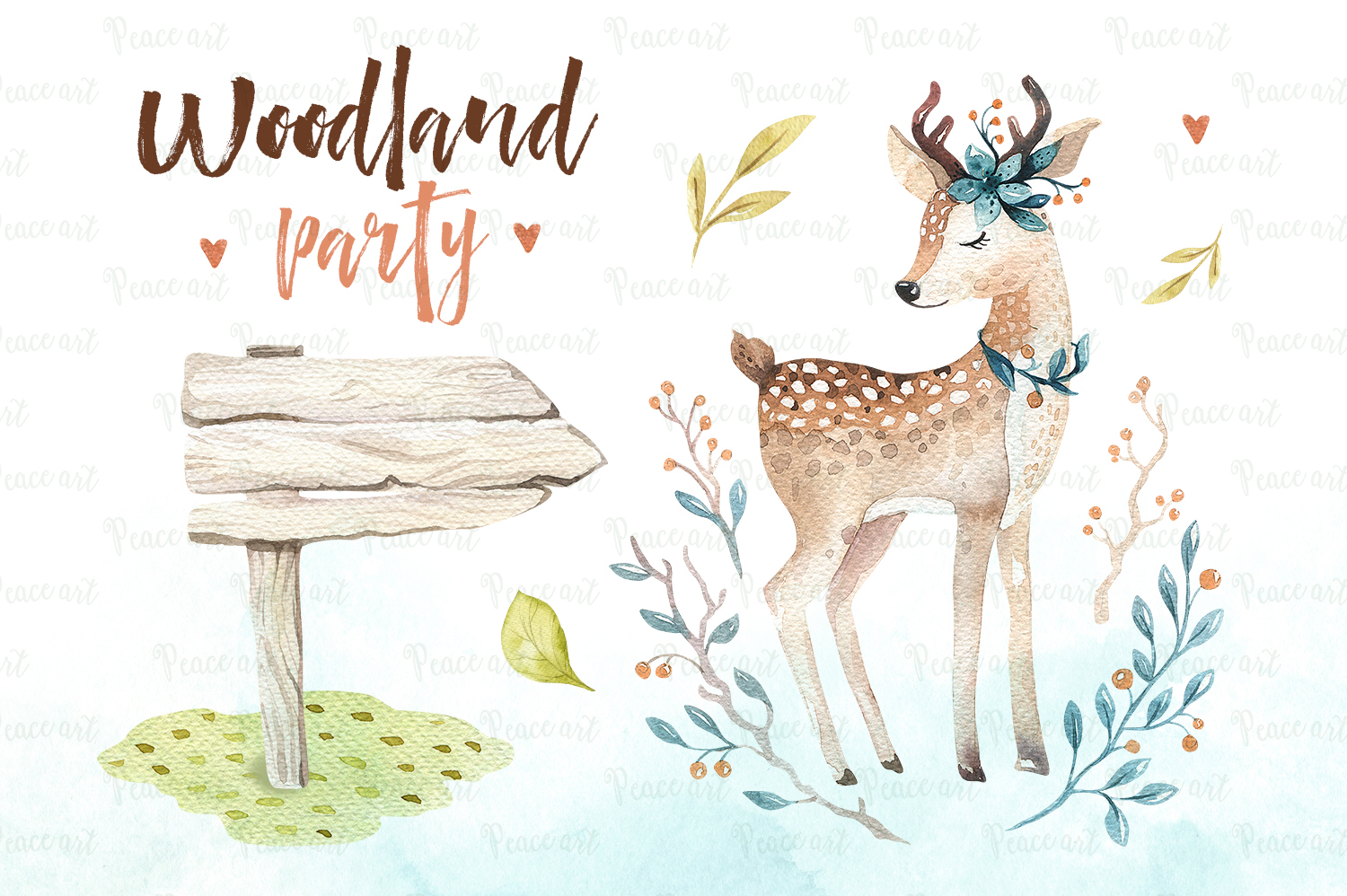 Woodland party I example image 2
