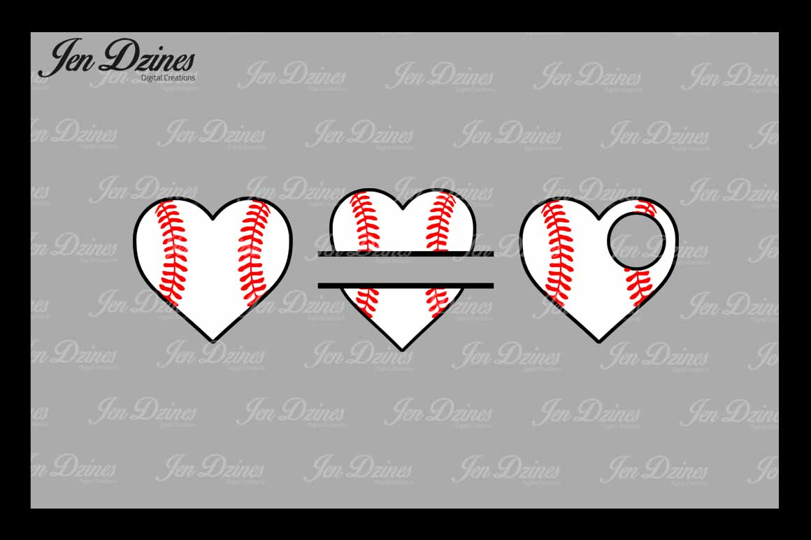 Baseball Bundle SCG DXF EPS PNG example image 5