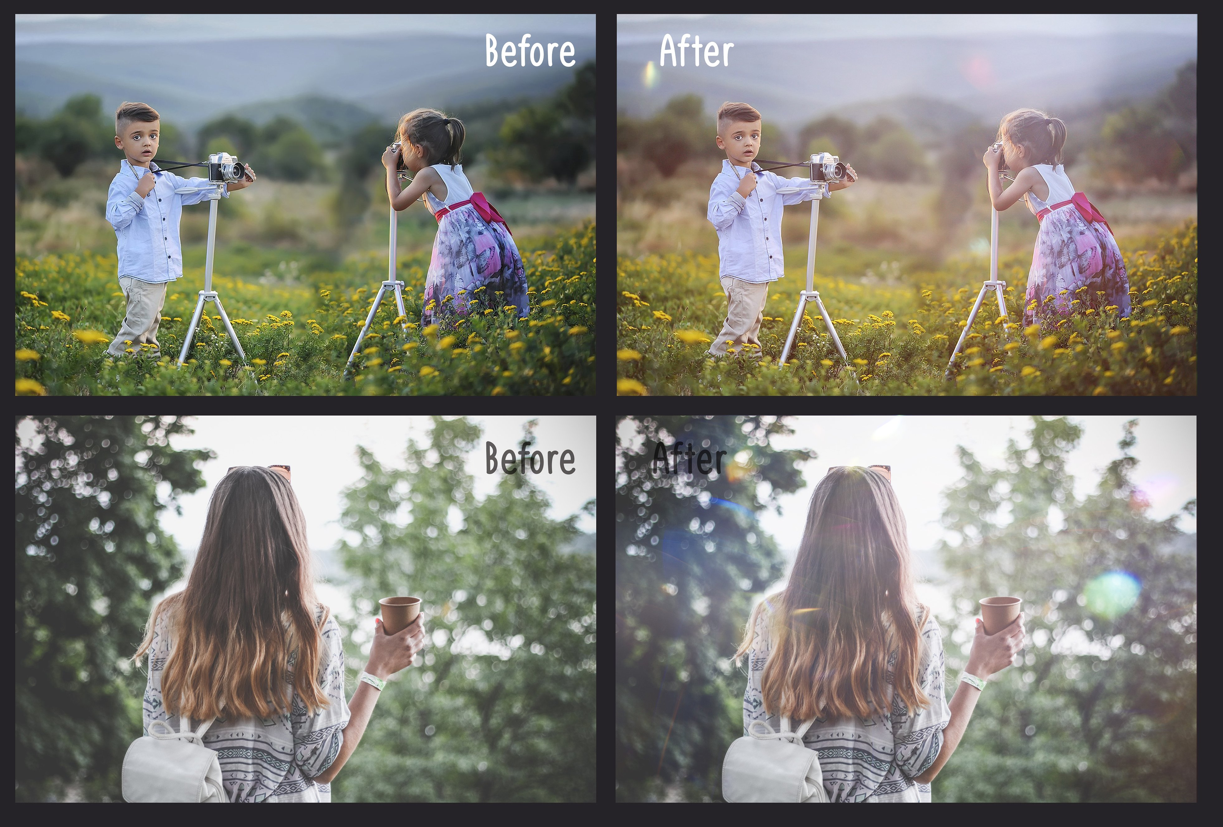 60 Light Bokeh Overlays example image 3