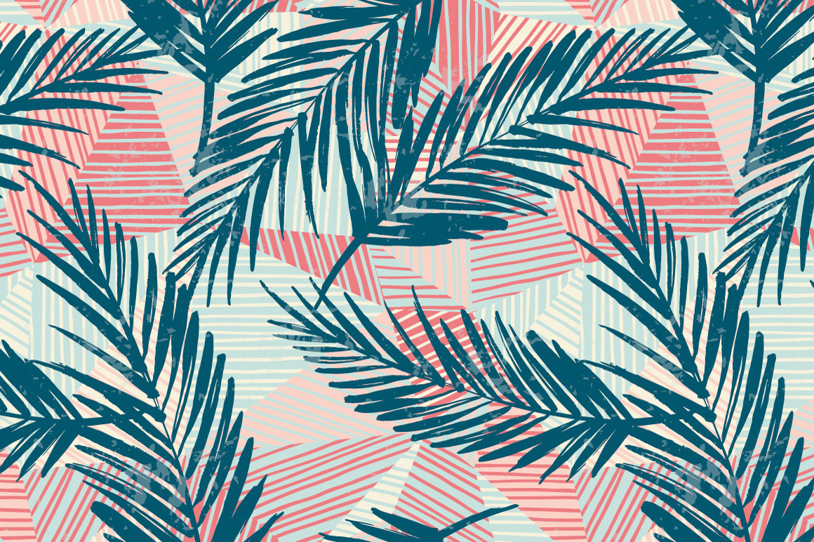 Summer Adventure. 6 seamless pattern example image 4