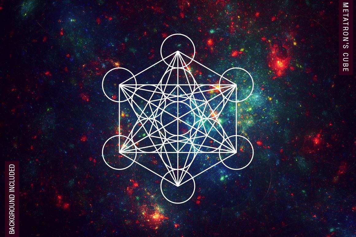 100 Sacred Geometry Symbols  example image 2