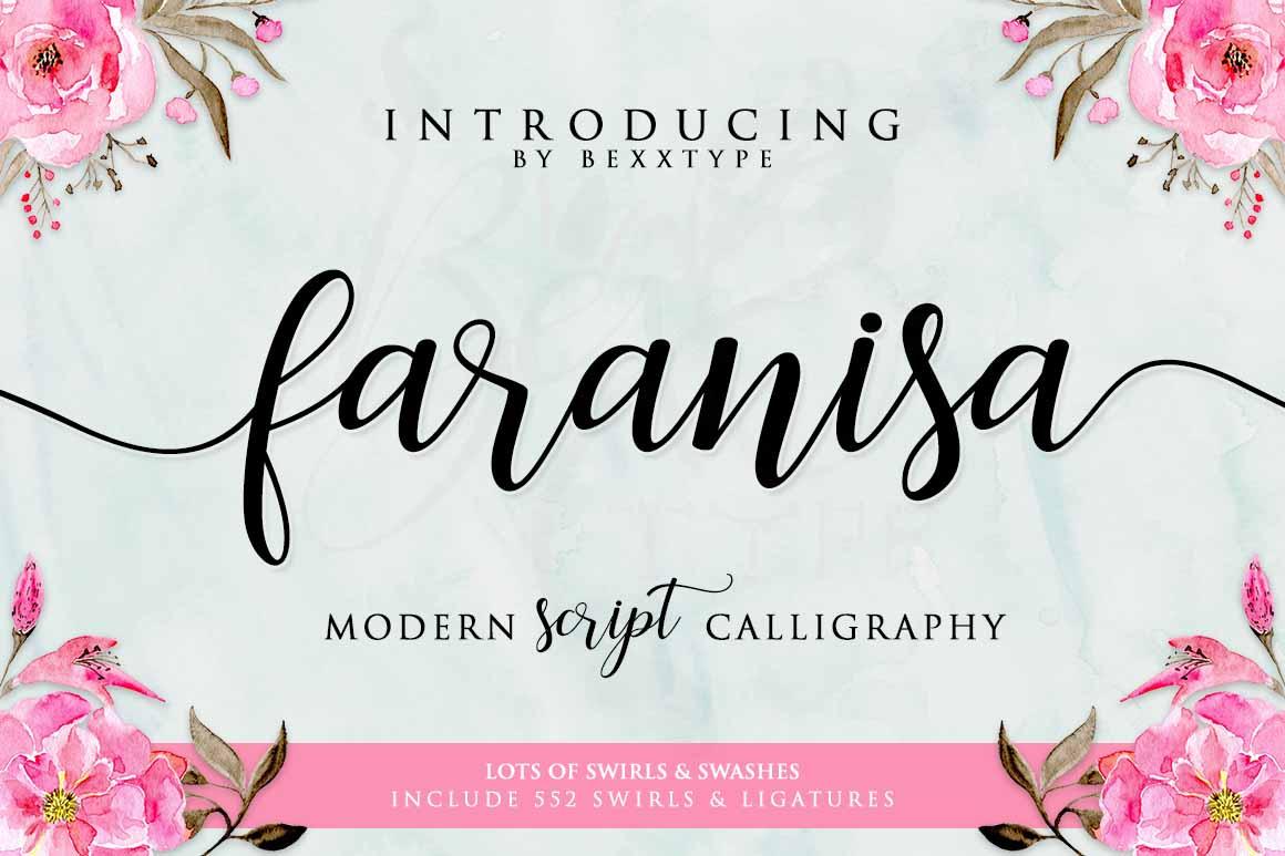 Faranisa Script example image 1