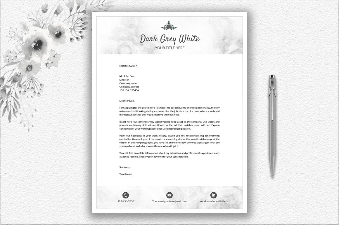 Resume Template Design by DocumentFolder | Design Bundles