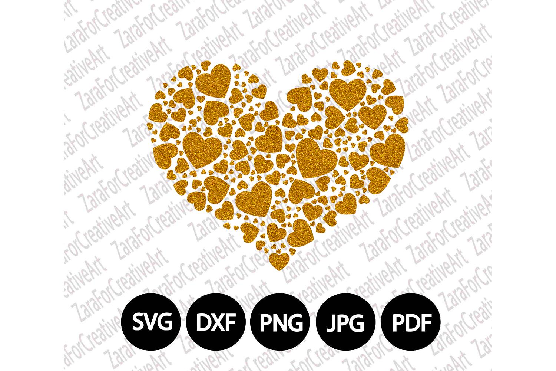 Heart svg DXF pdf jpg PNG - Cutting Fil | Design Bundles