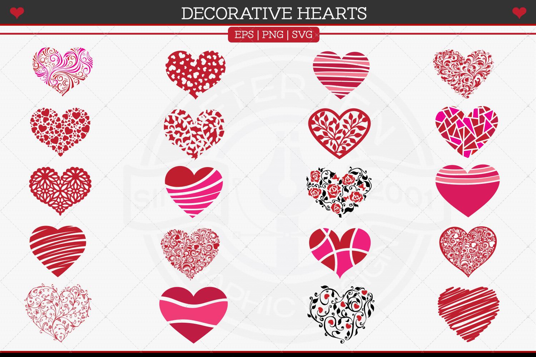 Decorative Hearts example image 4