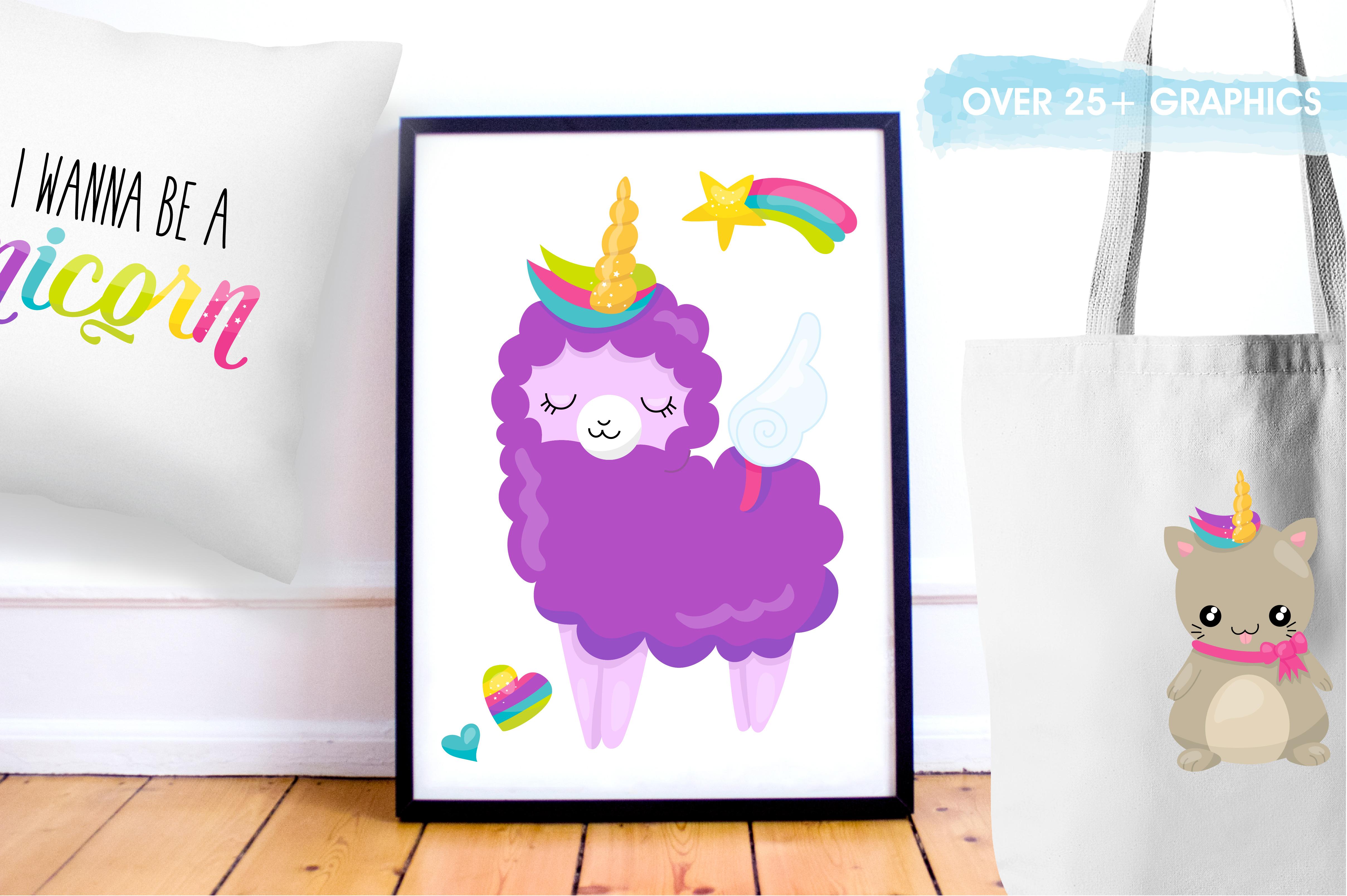 Wannabe unicorn graphics and illustrations example image 5