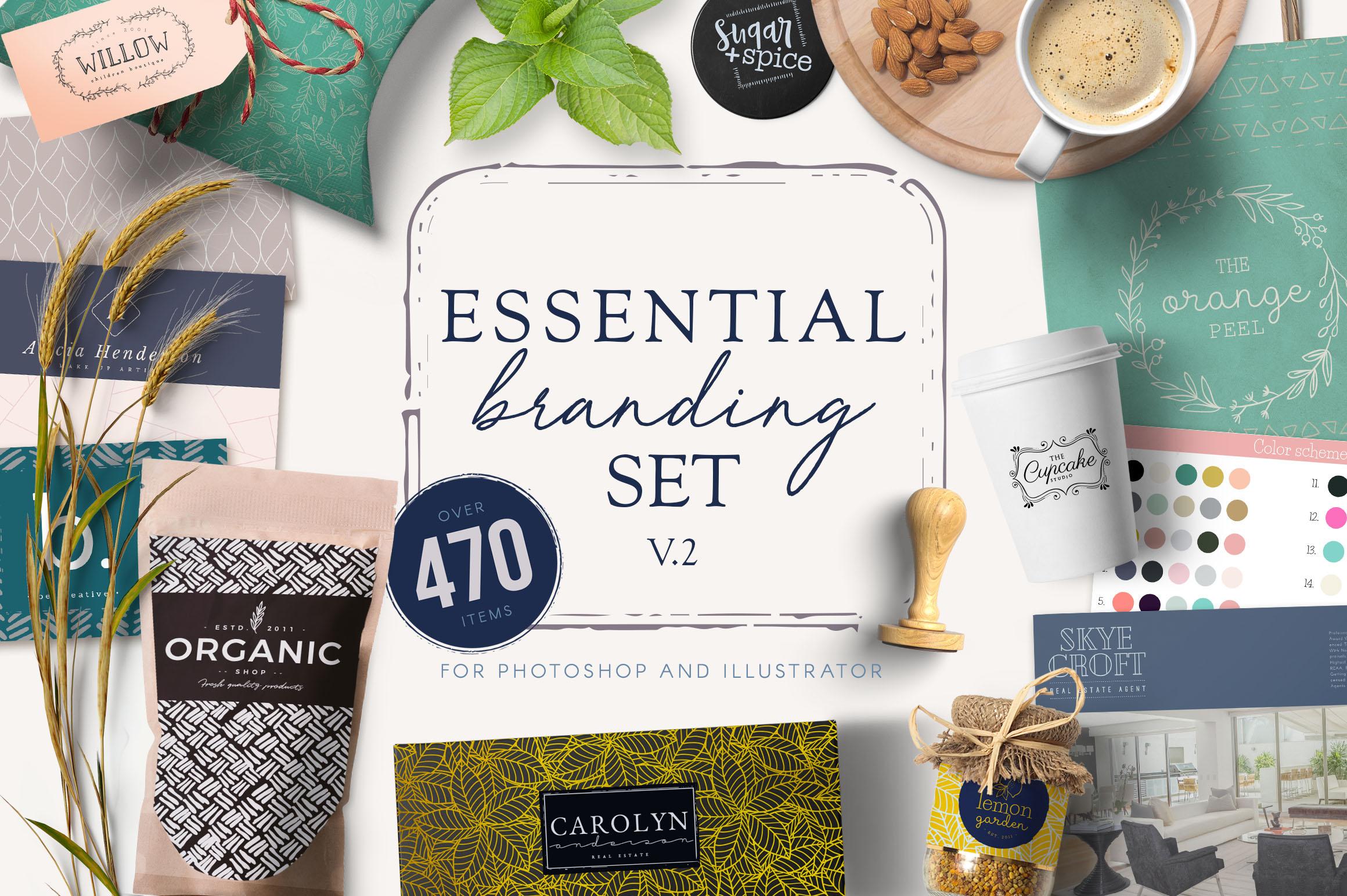 Essential Branding v.2 example image 1
