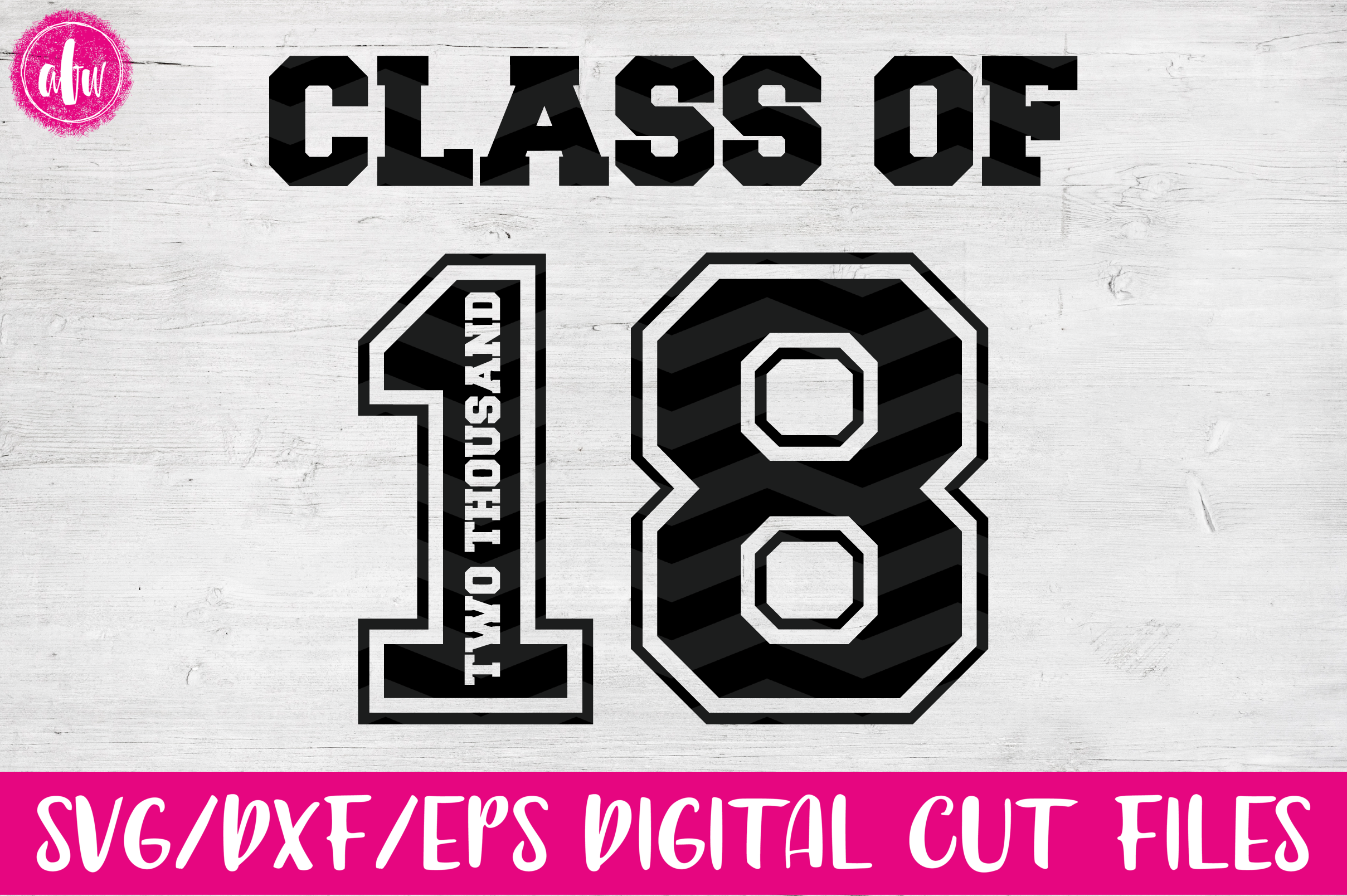 Graduation 2018 Bundle - SVG, DXF, EPS Cut Files example image 4
