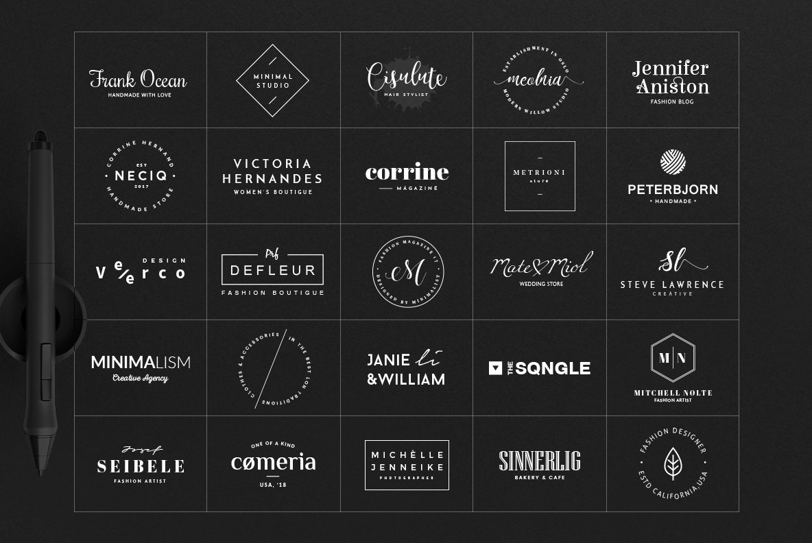 70 Elegant Logos (Extended License) example image 3