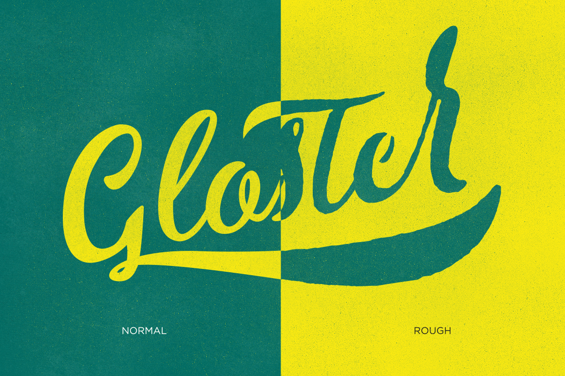 Gloster Typeface example image 3