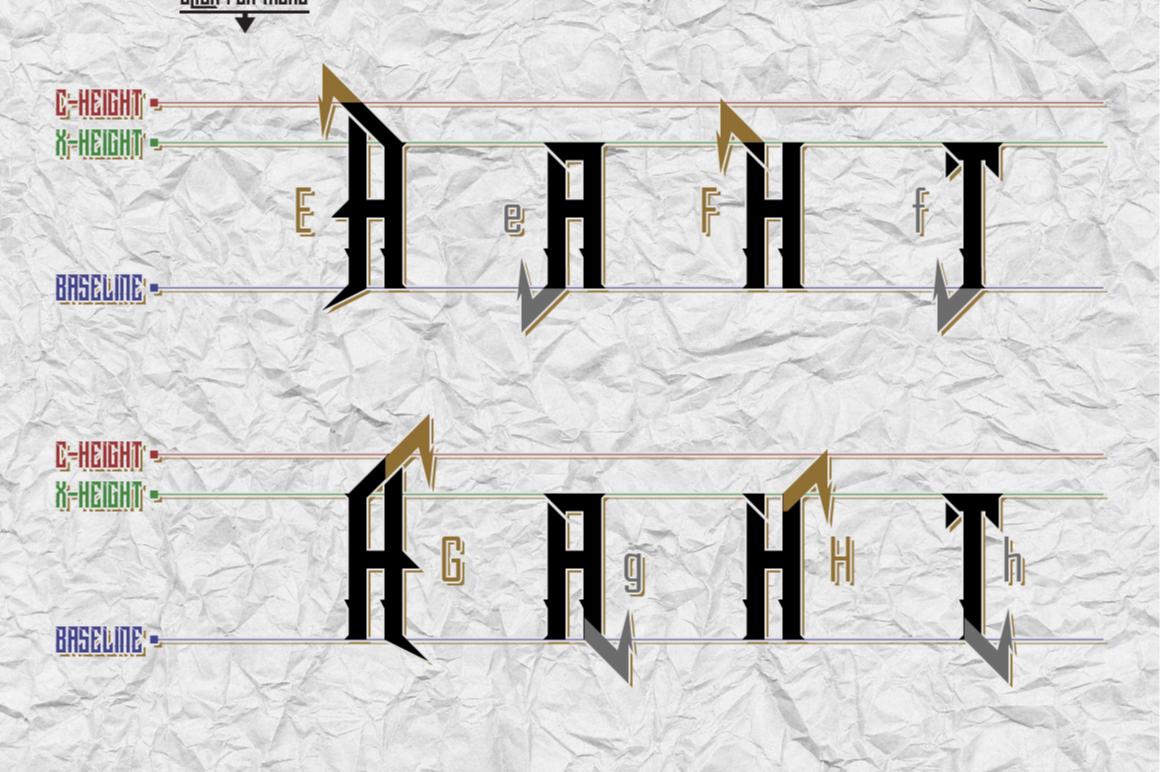 Dramaga Typeface example image 6