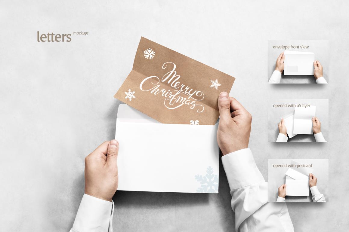 Paper Mockups Bundle (business card moc | Design Bundles