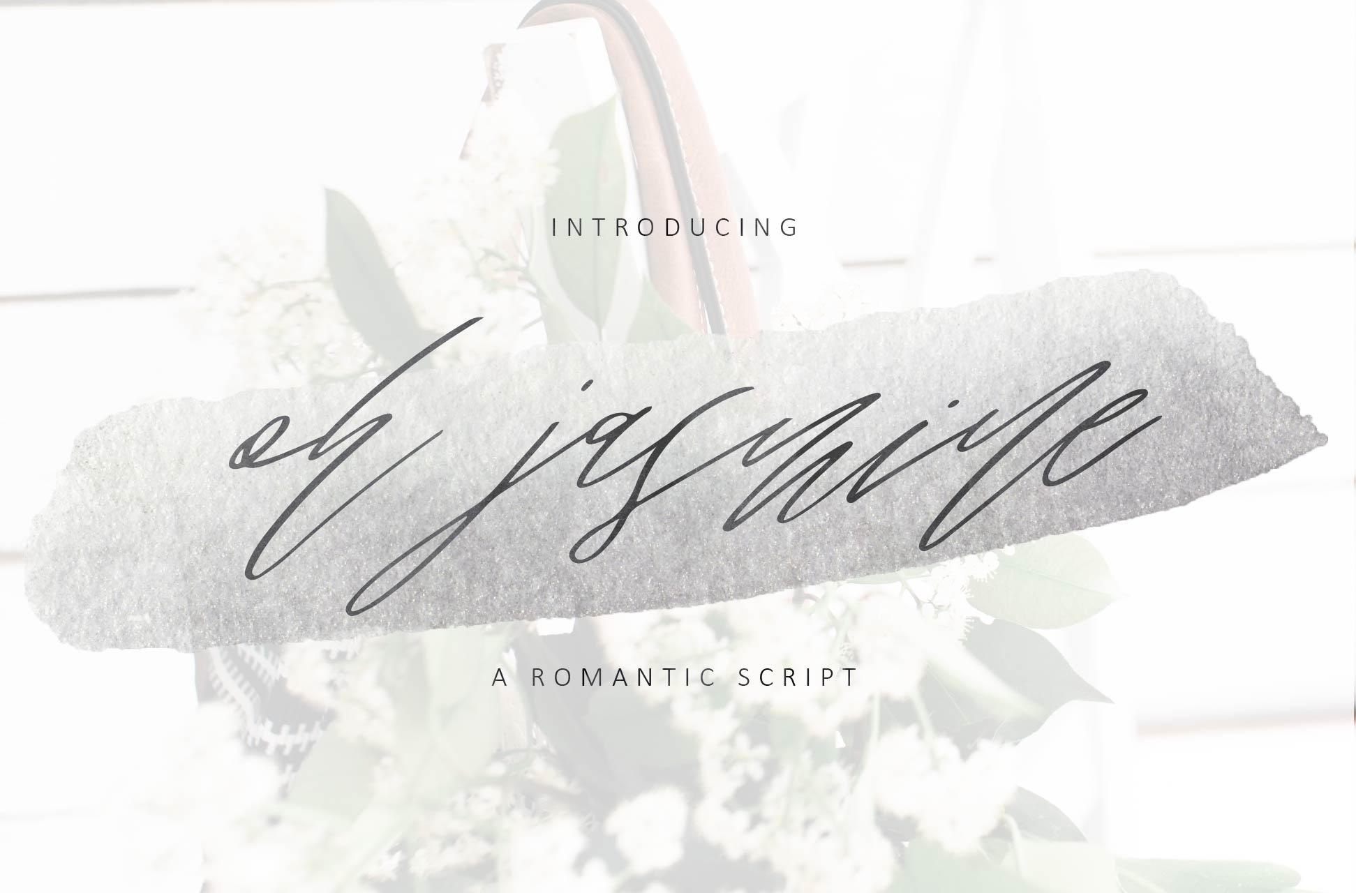 Oh Jasmine Signature Script example image 1