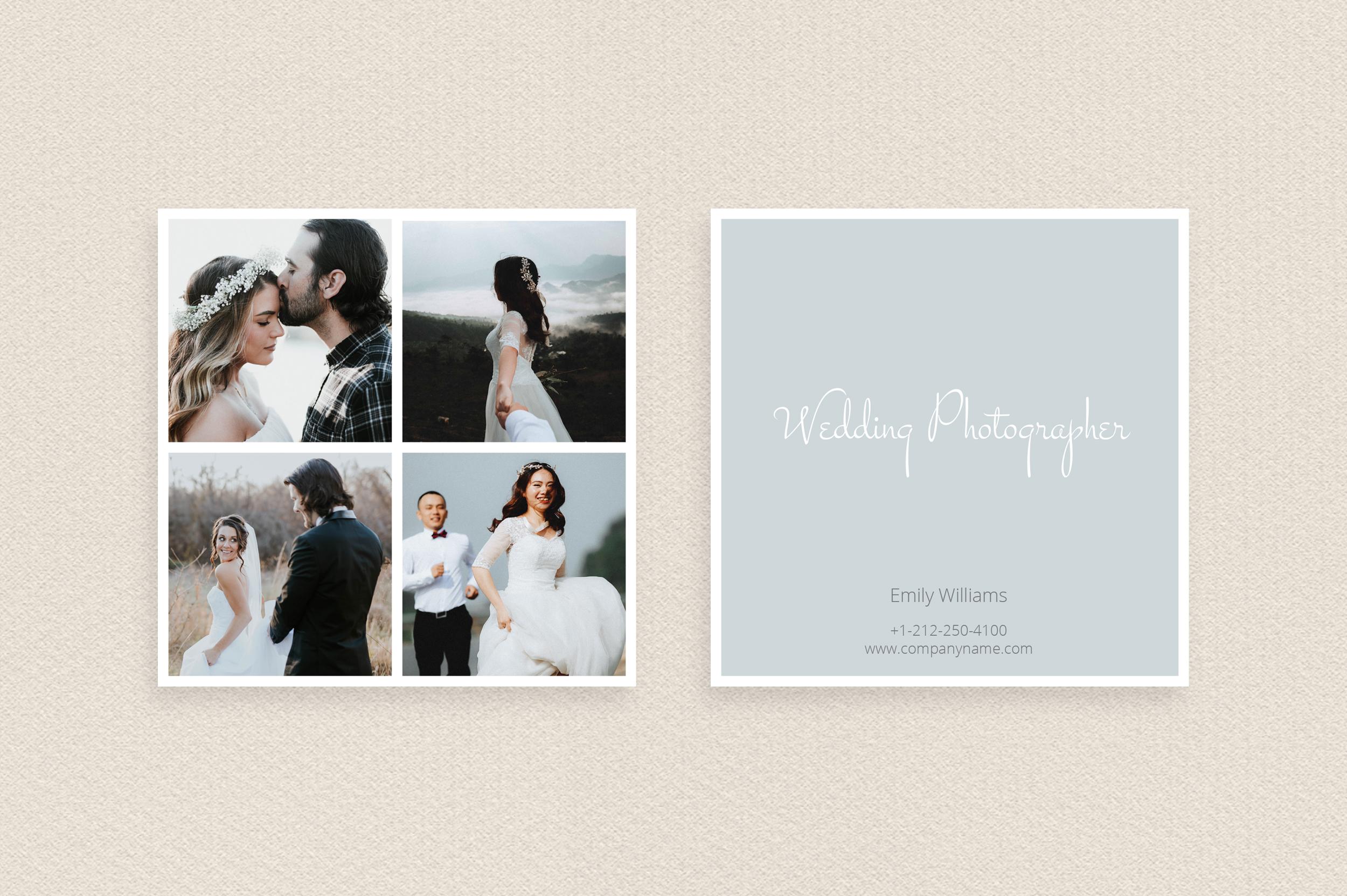 Square polaroid wedding photographer bu design bundles square polaroid wedding photographer business card example image 2 colourmoves